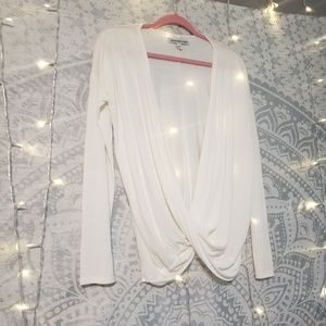 Abercrombie and Fitch drape blouse